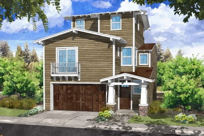 Catalina Craftsman rendering